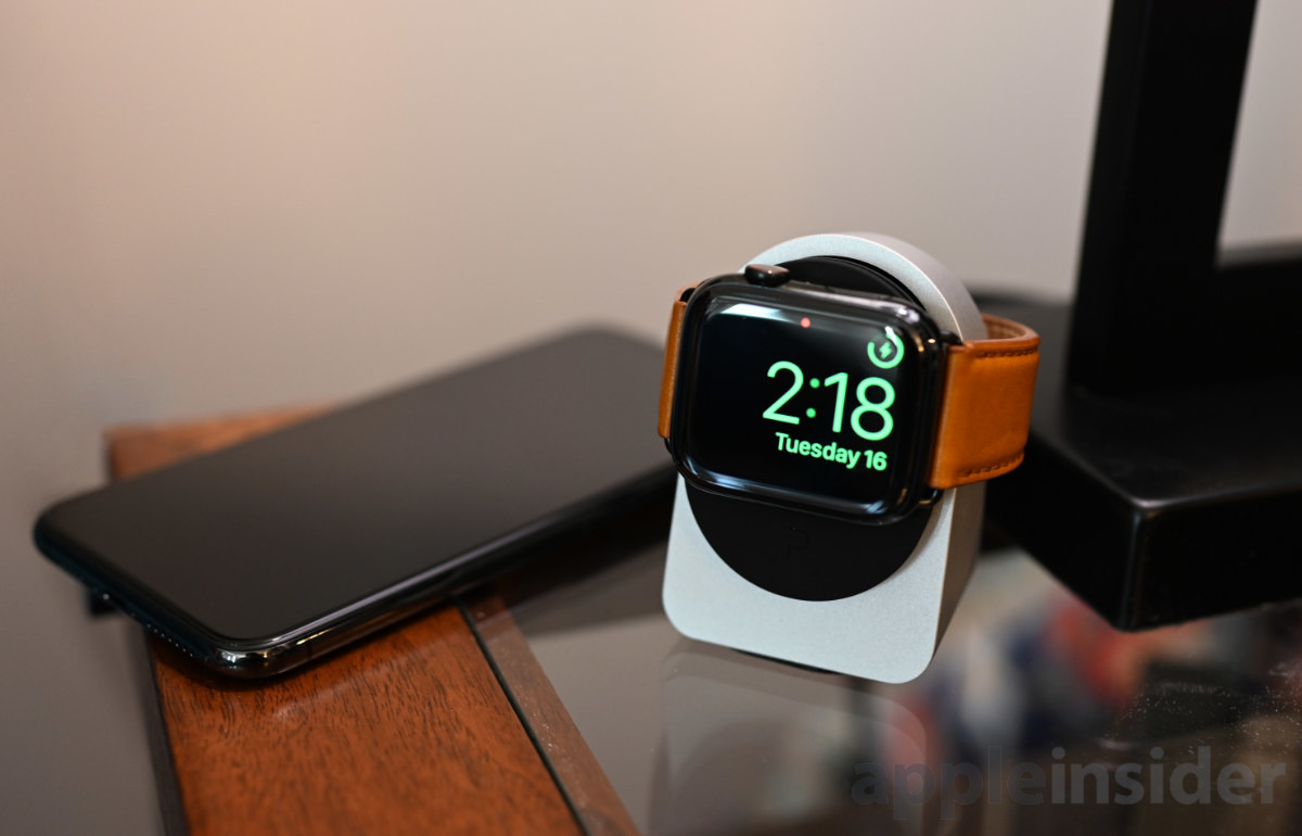 Estudio adecuado Apple Watch muelle