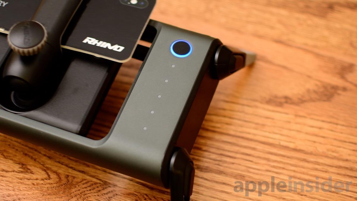 Botón de encendido del ROV Pro