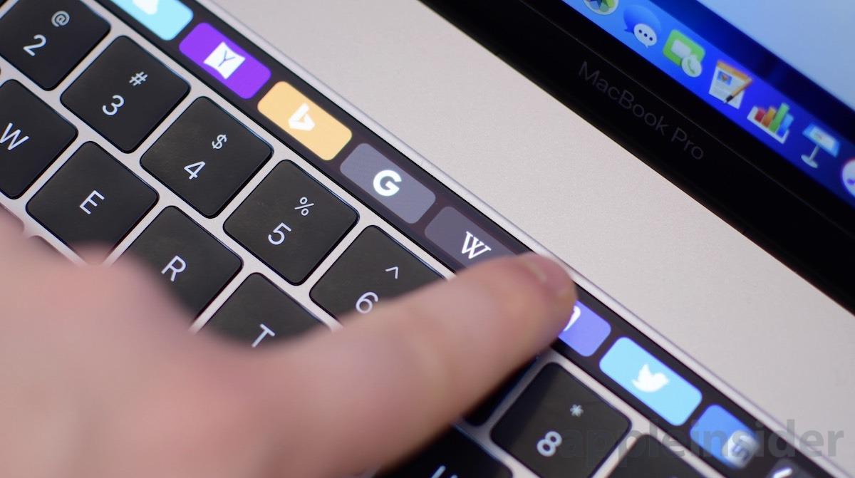 Barra táctil MacBook Pro 2018