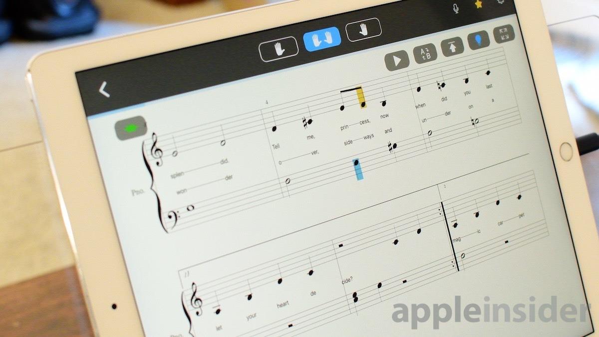 Partitura de ONE Smart Keybaord