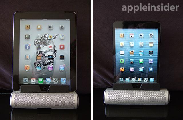 Cilindro con iPads
