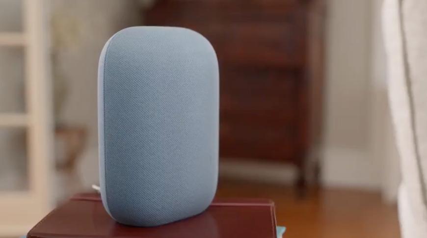 El altavoz Nest Audio tiene un audio que llena la habitación