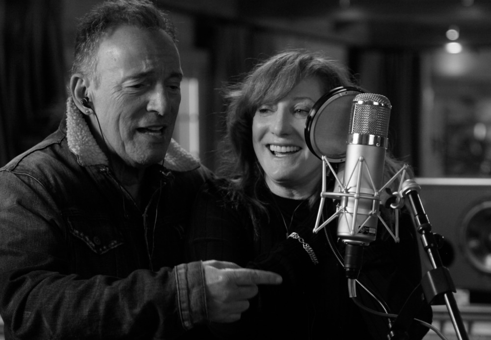 Bruce Springsteen y Patti Scialfa en