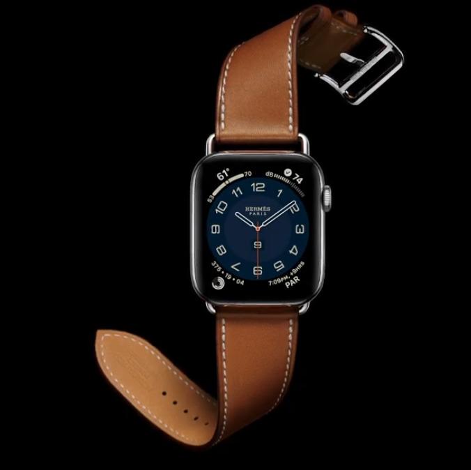 Nuevo tour único Apple Watch Serie 6 Banda de hermes