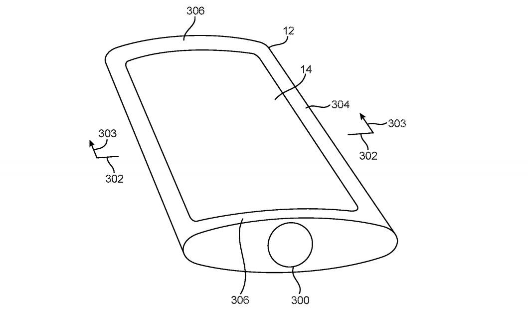 Un iPhone con un cuerpo redondo podría parecer más delgado en los bordes.