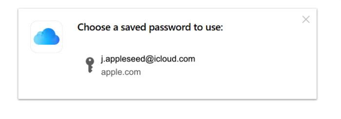 Una vez instalada, Windows los usuarios verán una solicitud de contraseña similar a iCloud