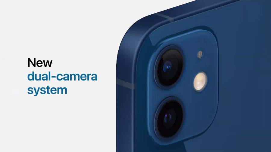 El iphone 12 conserva un sistema de cámara dual, pero se ha mejorado