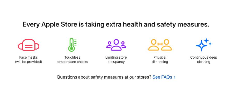 Apple  Las tiendas en el Reino Unido operan en las mismas condiciones que en los EE. UU.