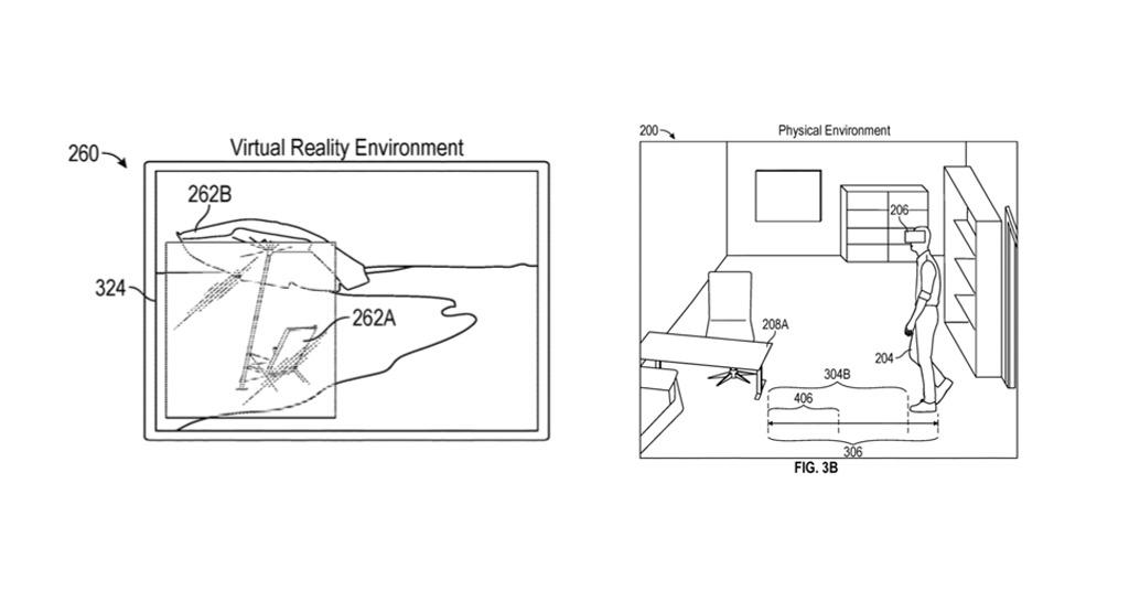 Un ejemplo de la vista virtual que puede ver un usuario.  Crédito: Apple