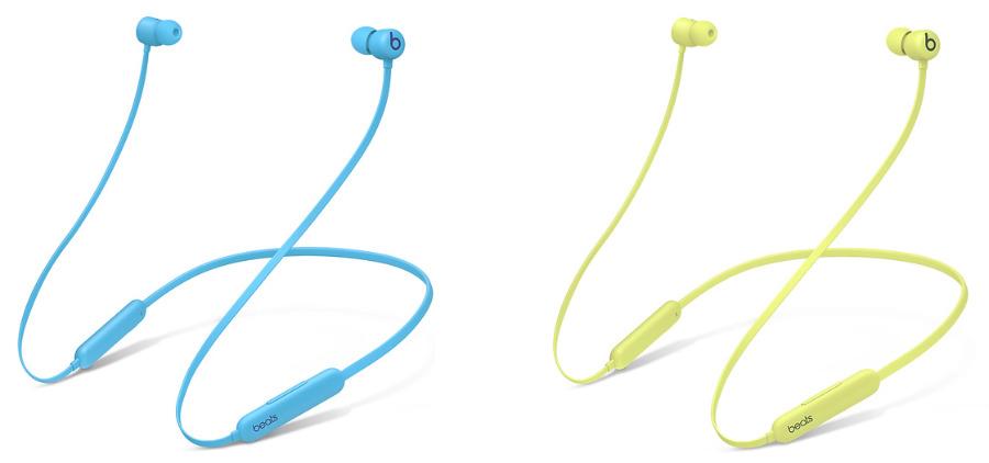Los dos nuevos colores: azul llama (izquierda) y amarillo Yuzu (derecha)