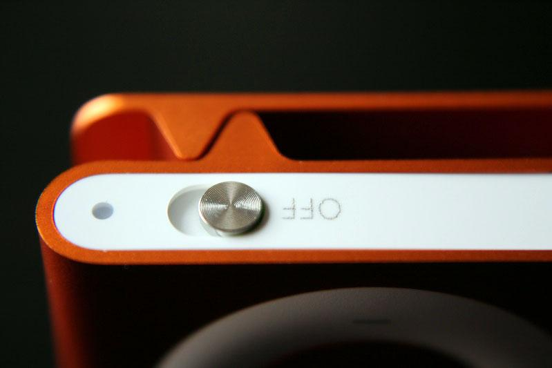 iPod shuffle naranja