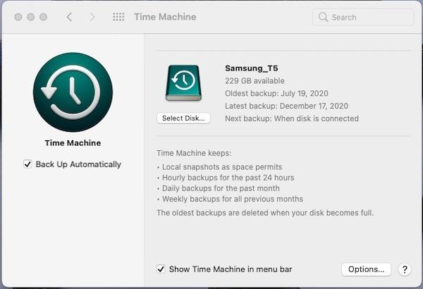 Asegúrese de hacer una copia de seguridad de su Mac antes de continuar.