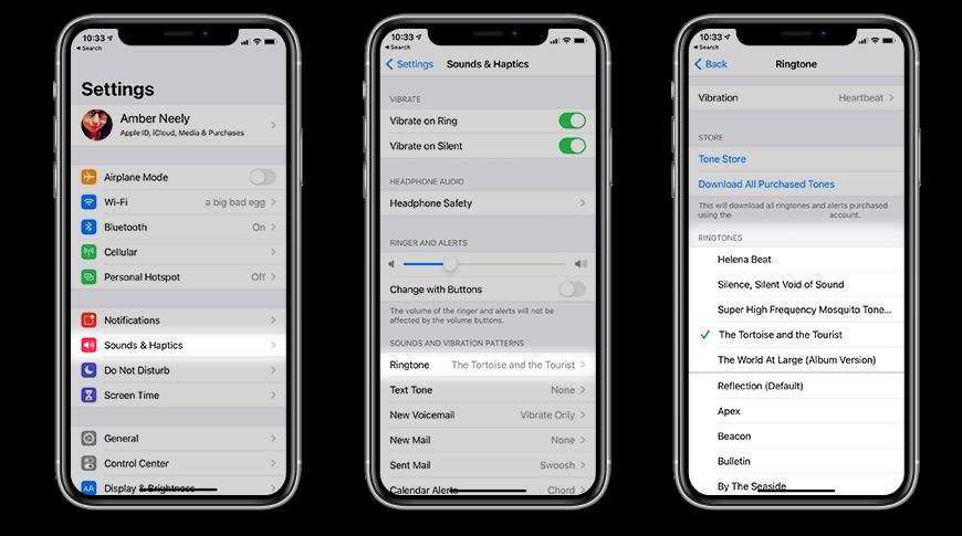Cómo cambiar el tono de llamada en tu iPhone