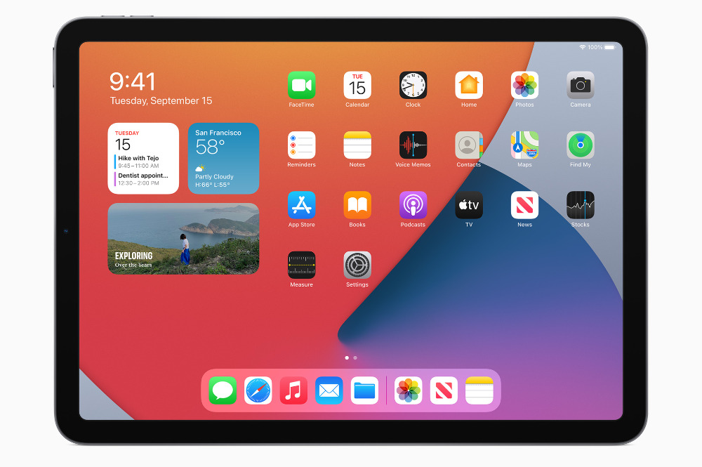 El nuevo iPad Air 2020 sigue teniendo grandes biseles