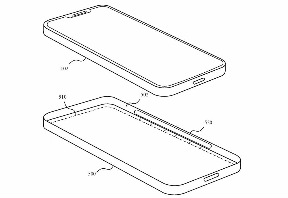 El estuche podría contener imanes y RFID, que podrían ser detectados por el iPhone.