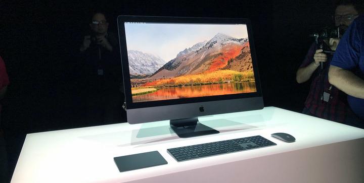 El primer adelanto del iMac Pro en 2017. No ha cambiado mucho.