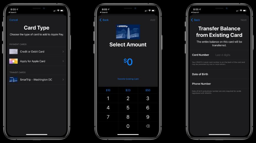 Nueva opción para agregar una tarjeta en Apple Billetera para una configuración rápida y sencilla