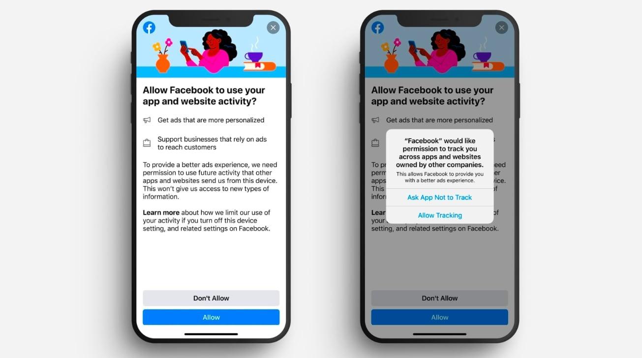 Facebook  ya está probando las reacciones de los usuarios al seguimiento de la privacidad