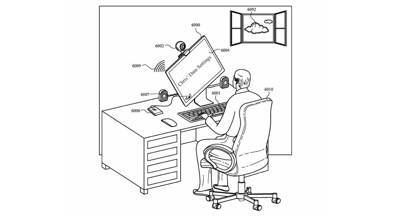 Un usuario que inicia sesión en una Mac puede activar una reconfiguración automática de la pantalla.