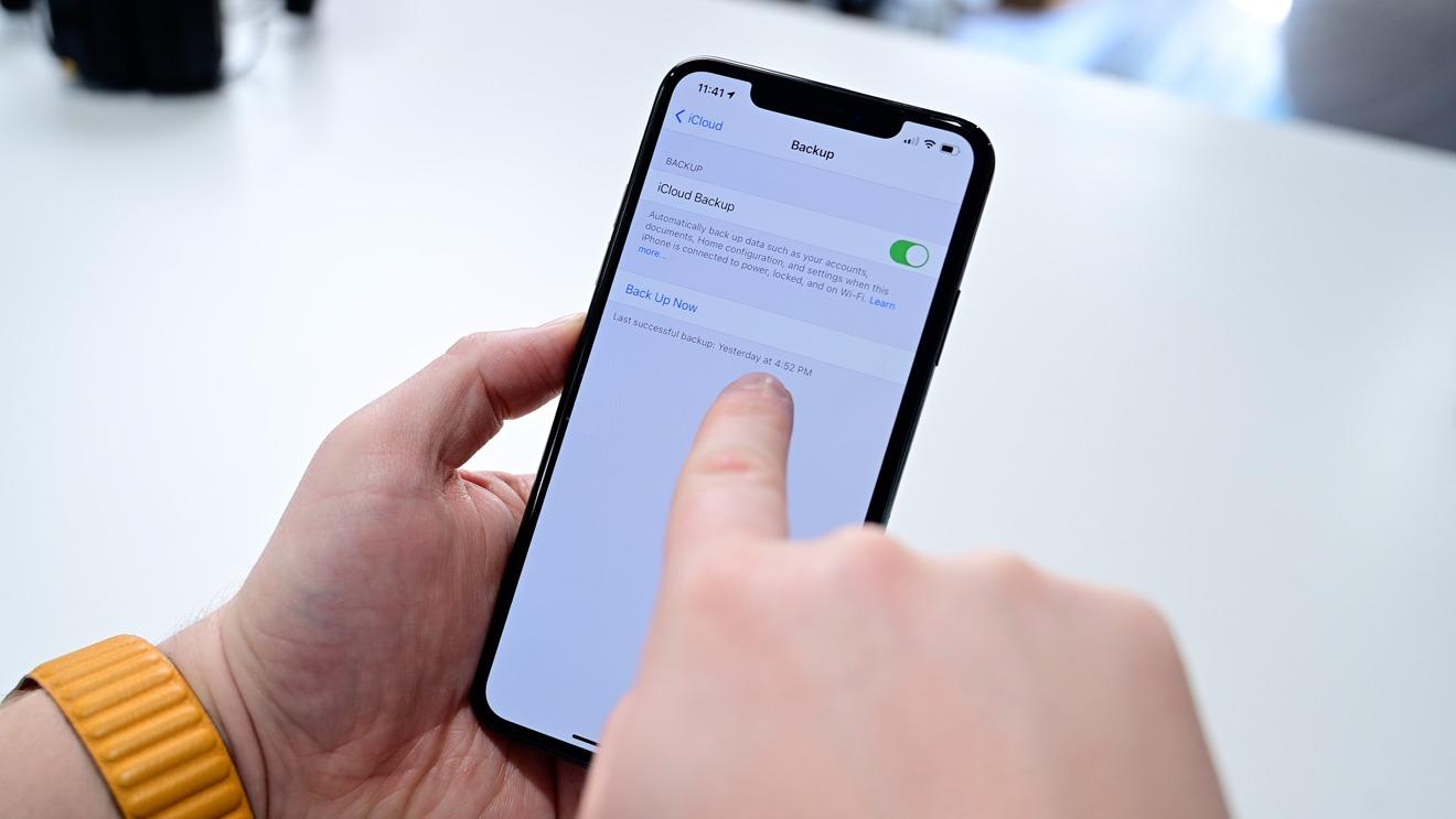 Haz una copia de seguridad de tu antiguo iPhone