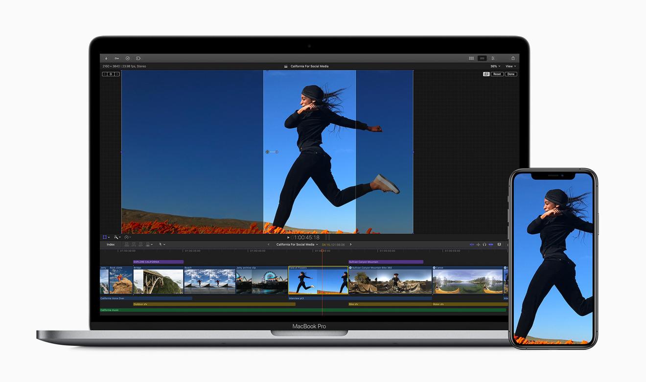 Herramientas de recorte especiales en Final Cut Pro X para la publicación de videos en redes sociales