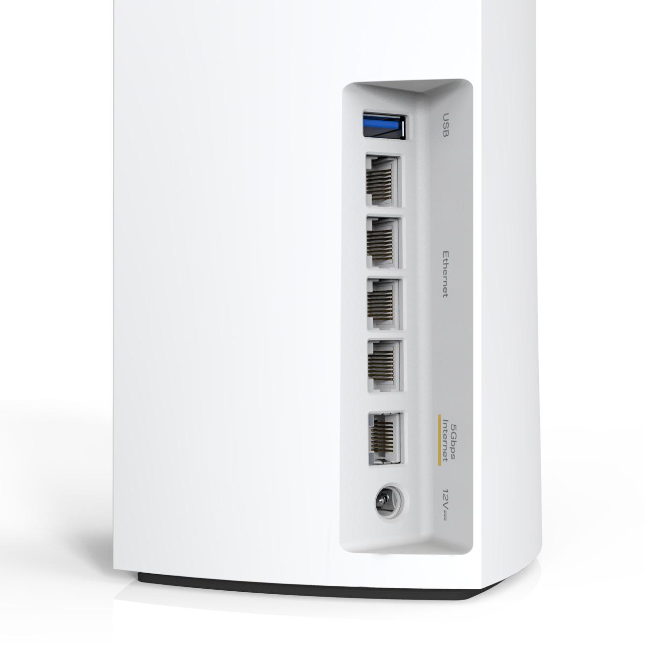 Puertos Ethernet cableados en el AXE8400