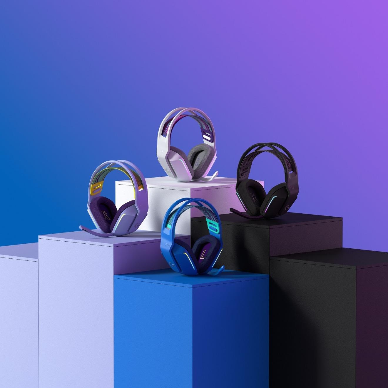 Los nuevos auriculares G733