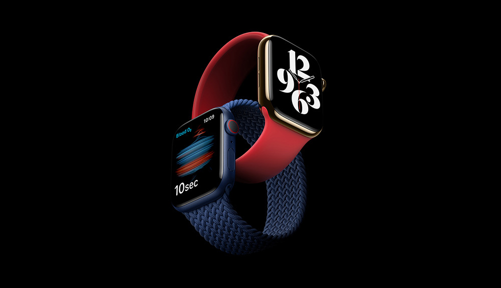 El nuevo Apple Watch Serie 6.  Crédito: Apple