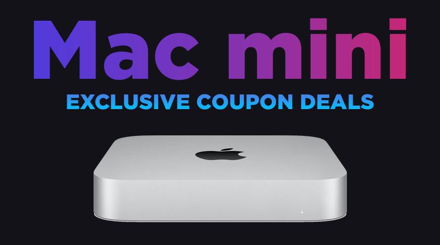 Nuevo Mac mini con Apple Cupón de procesador M1