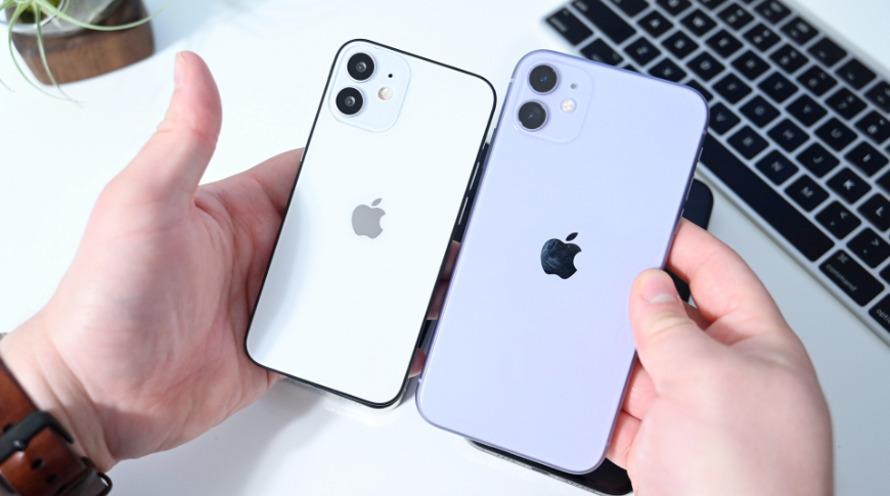Maquetas del 'iPhone 12'y' iPhone 12 Max ', aunque los nombres pueden cambiar.