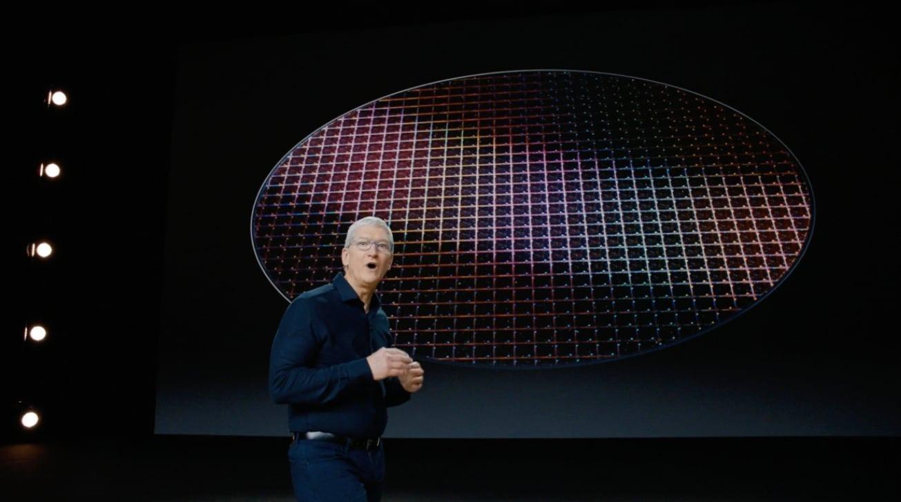 Apple  Presidente Tim Cook presentando Apple Silicon en la WWDC 2020