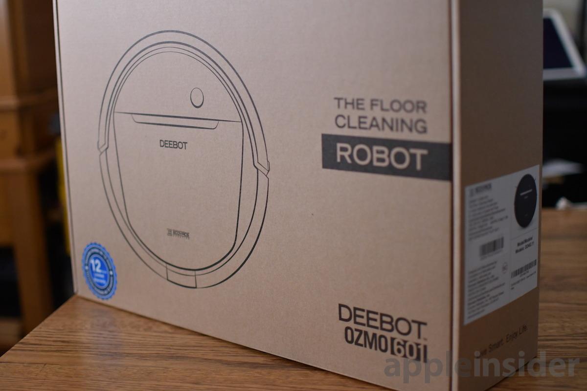 Caja Deebot Ozmo 601