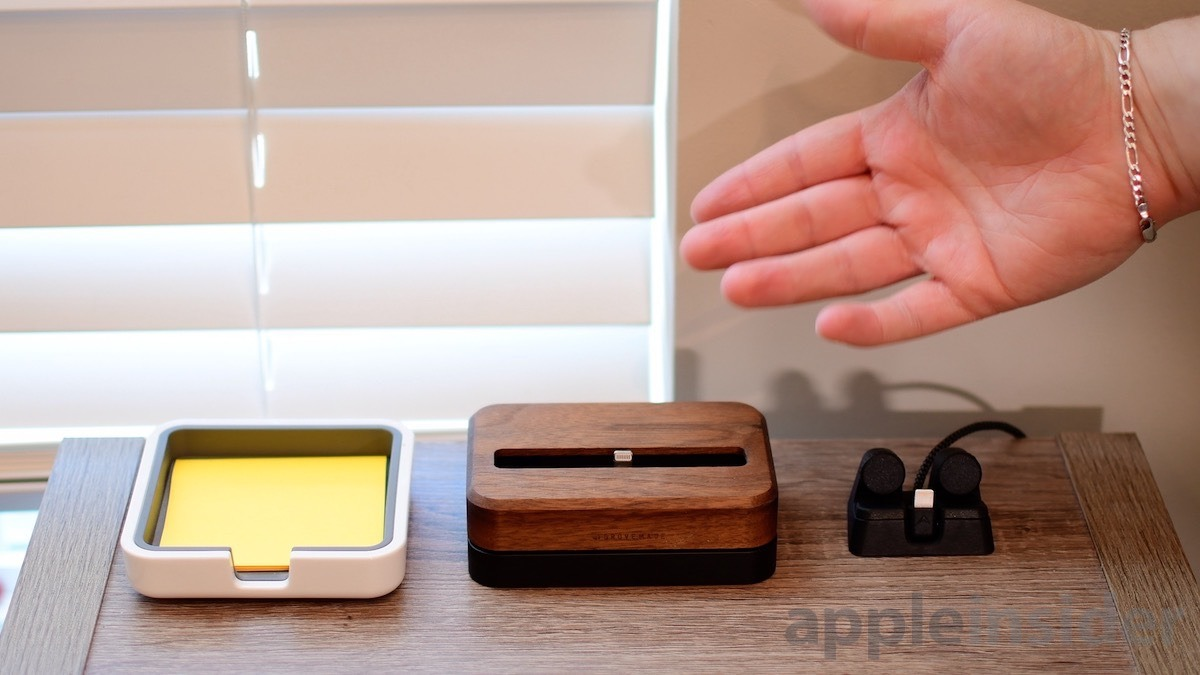 Muelles para iPhone Grovemade y ElevationLab
