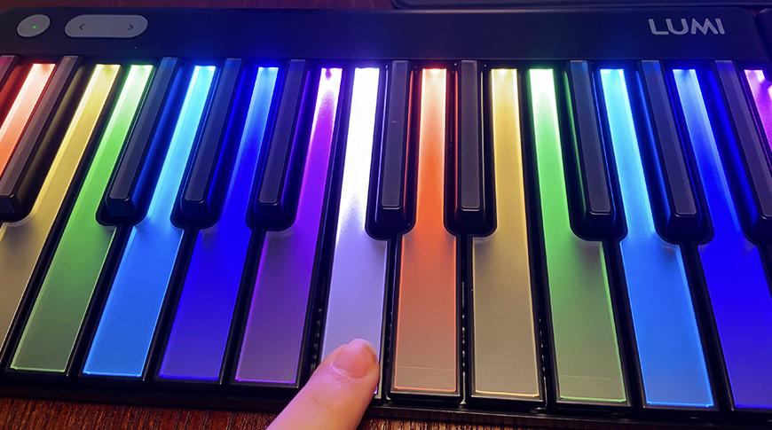 Las llaves Lumi tienen siete octavos del tamaño de una llave estándar