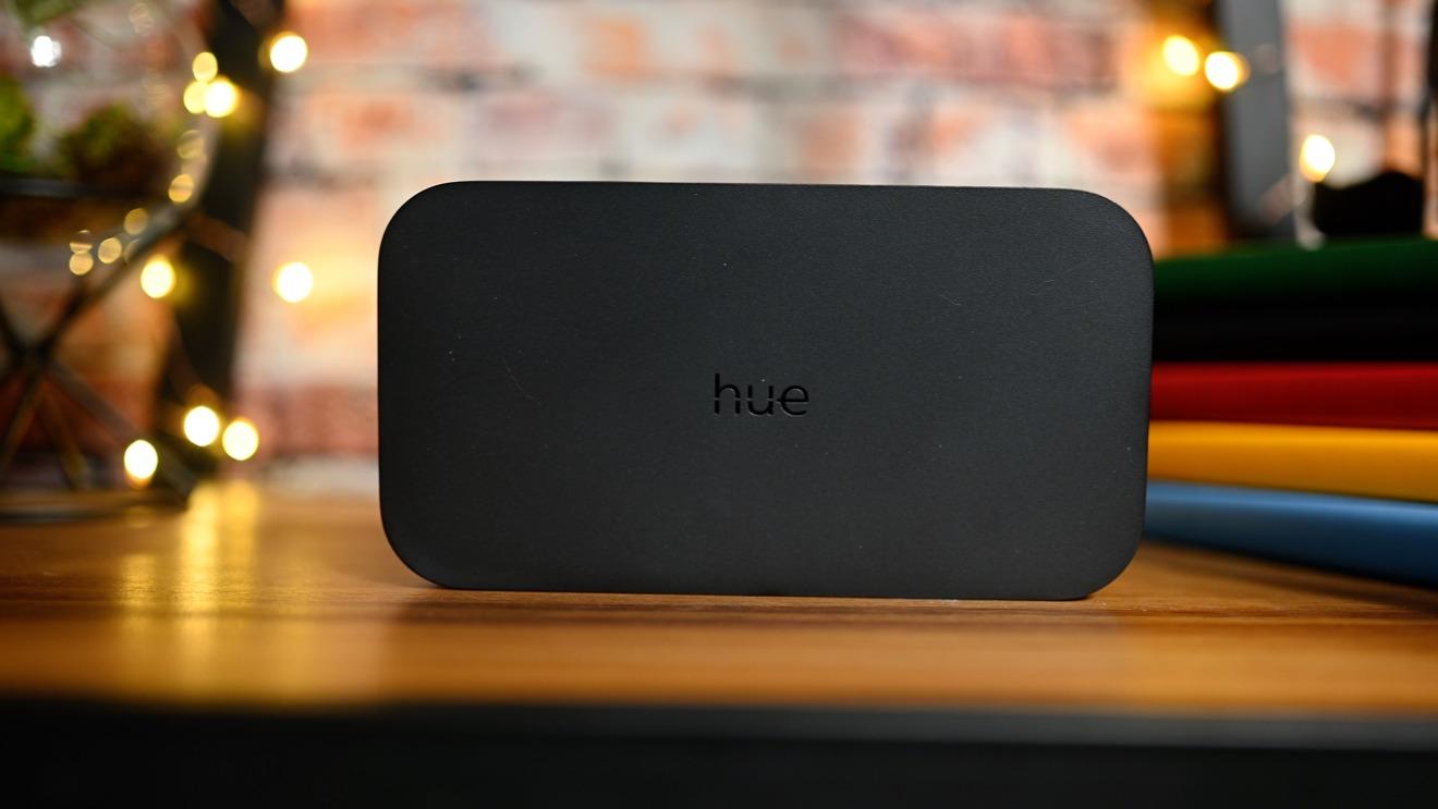 La caja de sincronización Hue HDMI
