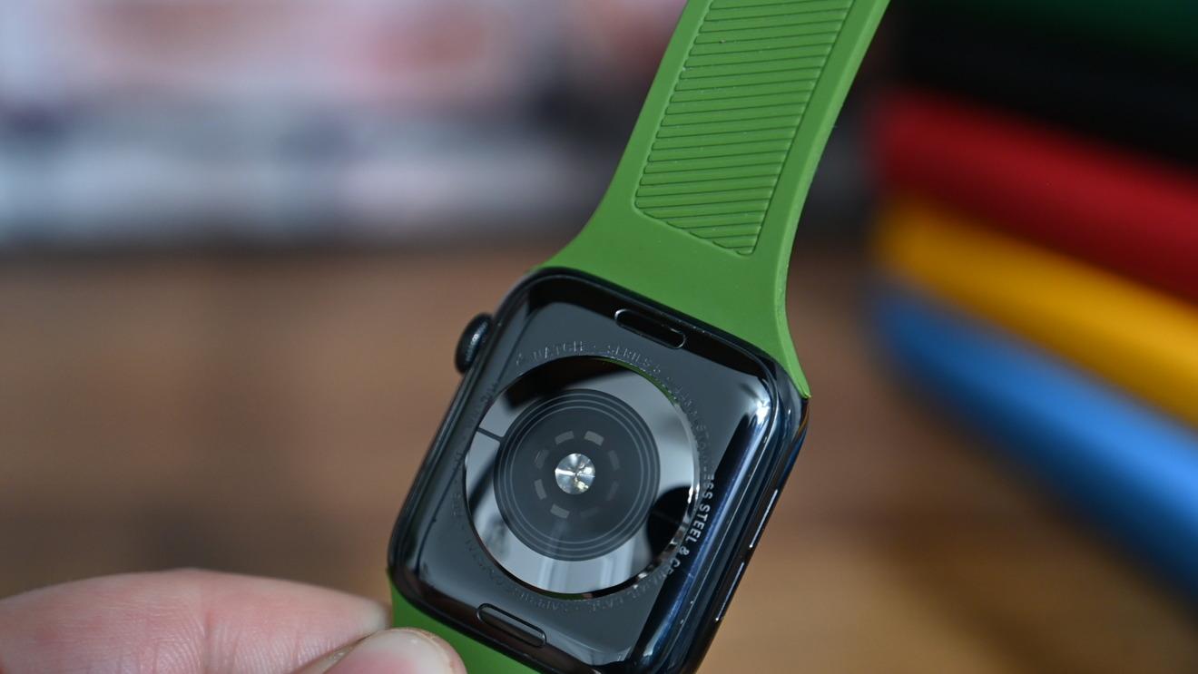 La espalda del UAG Scout Apple Watch banda