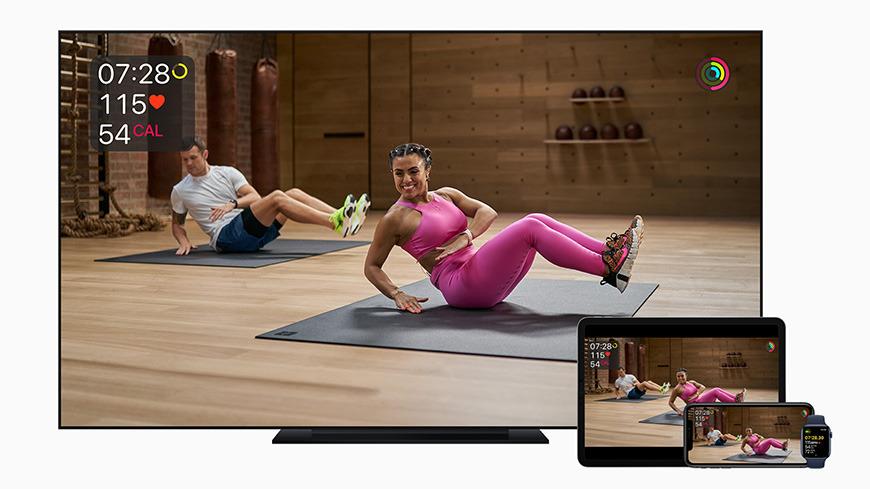 Apple  está decidido a mantenernos en forma