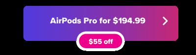 Apple  Oferta de AirPods Pro en Woot