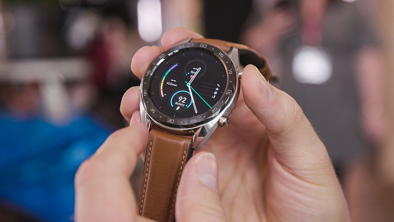 AndroidPIT huawei watch gt frontal
