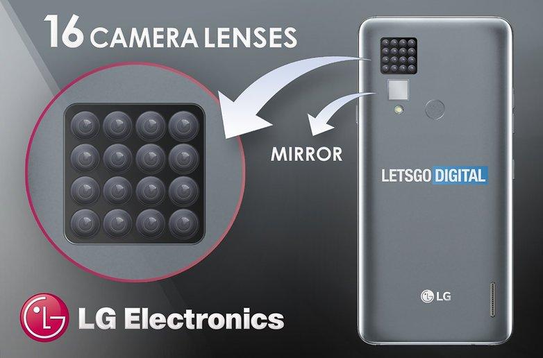 cámara del teléfono inteligente lg 1