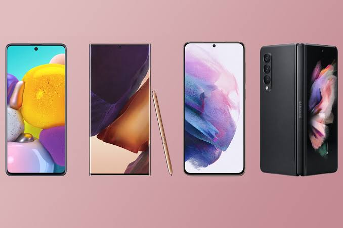 Teléfonos Samsung populares
