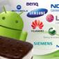 Se confirman las actualizaciones de Ice Cream Sandwich para los teléfonos Samsung actuales