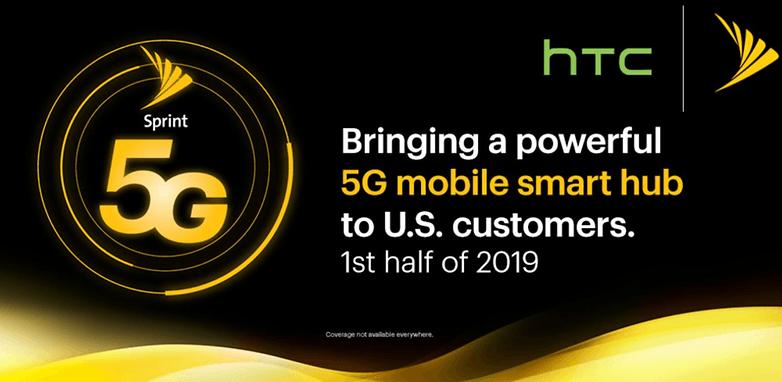 Asociación Sprint HTC 5G